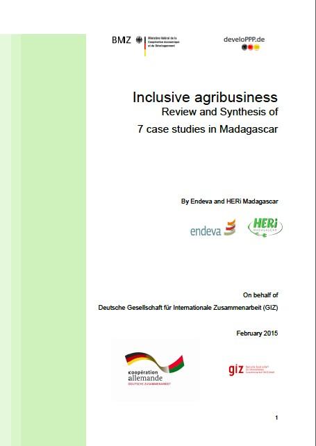 Case Studies Madagascar