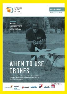 DDG Alliance: When to use drones